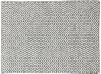 Gray Flat Bella Area Rug, 5x8