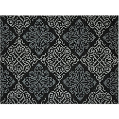 Silver Medallion Piazza Outdoor Rug, 5x8