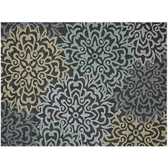 Silver Charm Piazza Outdoor Rug, 5x8