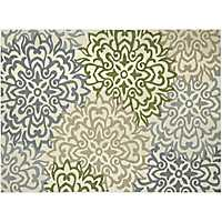 Ivory Charm Piazza Outdoor Rug, 5x8