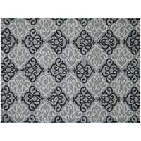 Silver Augustine Piazza Outdoor Rug, 5x8