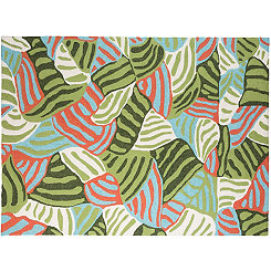 Green Zebra Piazza Outdoor Rug, 5x8