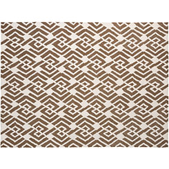 Bronze African Piazza Outdoor Rug, 5x8