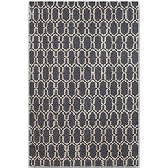 Silver Chain Zara Area Rug, 5x8
