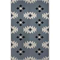 Blue Mayan Zara Area Rug, 5x8