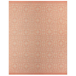 Orange Oasis Bundoran Area Rug, 8x10