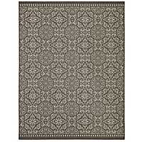 Black Oasis Bundoran Area Rug, 8x10
