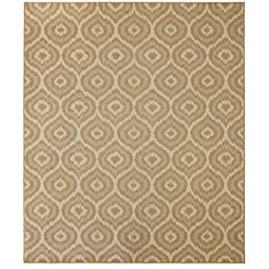 Tan Morro Outdoor Rug, 8x10