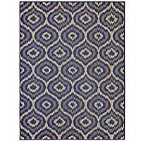 Navy Morro Outdoor Rug, 8x10