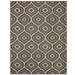 Black Morro Outdoor Rug, 8x10