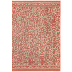 Orange Nauset Area Rug, 5x8