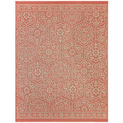 Orange Nauset Area Rug, 8x10