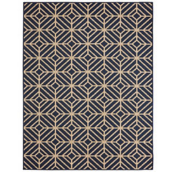 Blue Rockport Outdoor Rug, 8x10