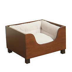 Kingsley Light Wooden Pet Bed