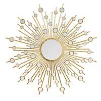 Gold Pia Wall Mirror