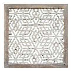 Geometric Laser Cut Wall Plaque