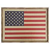 American Flag Wall Plaque