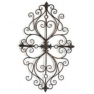 Traditional Scroll Wall Plaque