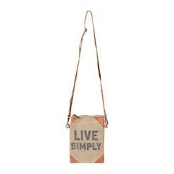 Live Simply Vintage Crossbody Bag