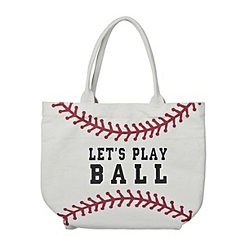 Let's Play Ball Tote