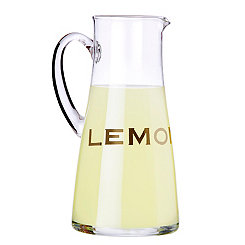 Gold Lemon Pitcher