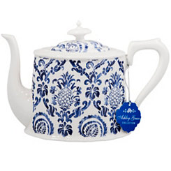 Blue and White Pineapple Teapot