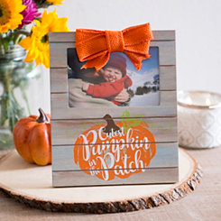 Cutest Pumpkin Wood Plank Picture Frame, 4x6
