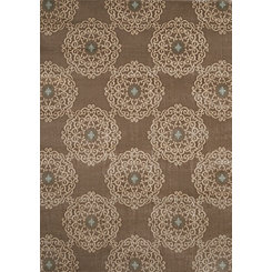 Taupe Chambord Area Rug, 5x8
