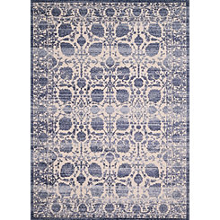 Blueberry Rosseau Area Rug, 5x8