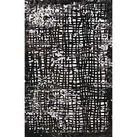 Black Showers Area Rug, 5x7