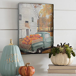 Pumpkin Harvest Gallery Art Print