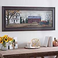 Harvest Pumpkins for Sale Framed Art Print