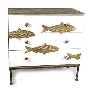 Gold Fish 3-Drawer Chest