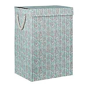 Watercolor Arrow Collapsible Fabric Laundry Hamper
