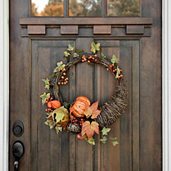 Cornucopia Pumpkin Wreath