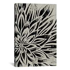 Barnwood Bloom II Canvas Art Print