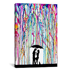 Two Step Canvas Art Print