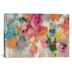 Colorful Garden I Canvas Art Print