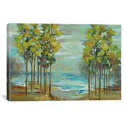 Spring Trees Canvas Art Print