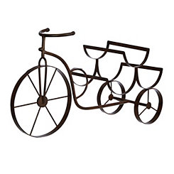 Bronze Bicycle Wine Holder