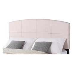 Linen Gentle Arch King Headboard