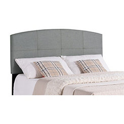 Smoke Gray Gentle Arch Twin Headboard