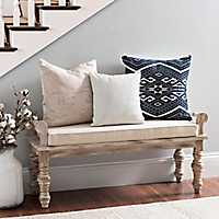 Suzanne Rustic Wooden Bench