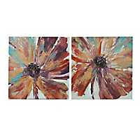 Jewel Tone Florals Canvas Art Prints