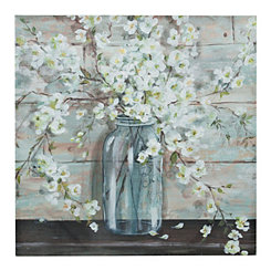 Tres Sorelle Mason Jar Canvas Art Print