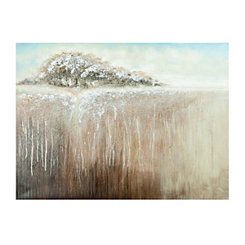 Sparkle Tree Canvas Art Print