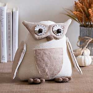 Quilted Plush Owl
