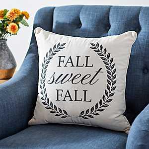 Plaid Fall Sweet Fall Pillow