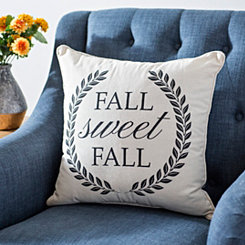 Plaid Fall Sweet Fall Pillow