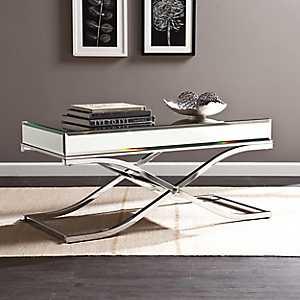 Cassatt Mirrored Coffee Table